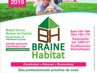 Braine Habitat 2019 - ces 30 / 31 mars