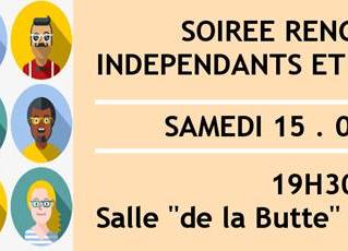Souper des indépendants et artisans de Braine-le-Comte - SAMEDI 15/09/18