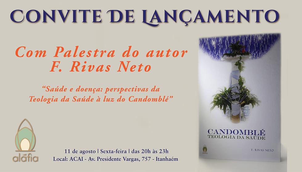 Livro Candomblé F. Riva Neto