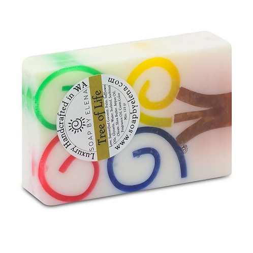 澳洲【SOAP BY ELENA】生命之樹 手工養膚皂 130g
