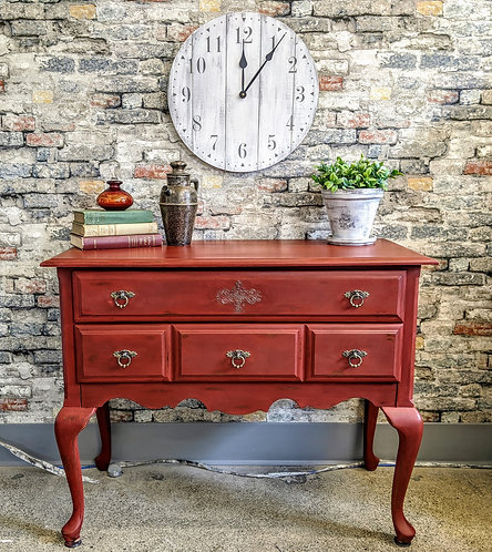 Small Scale Two Drawer Buffet