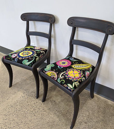 Pair of Pretty Accent Chairs