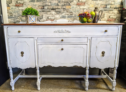 Sideboard with Natural Top