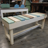 Multi-coloured Bench (Cold Colours)