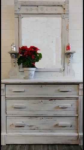 Eastlake Dresser with Mirror