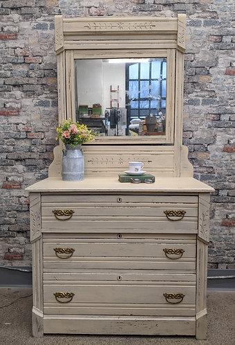 Mirrored Eastlake Dresser