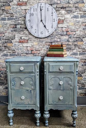 Pair of Vintage Nightstands