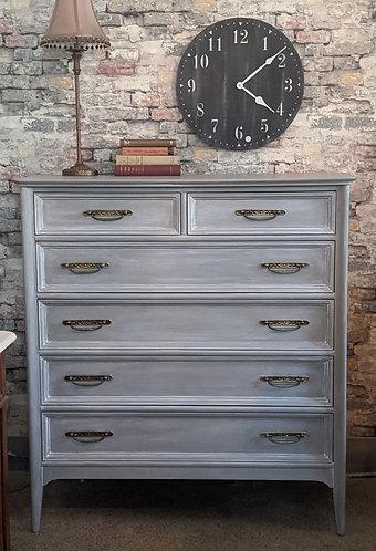 6 Drawer Highboy Dresser