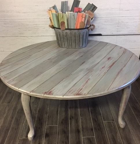 Round Beachy Coffee Table