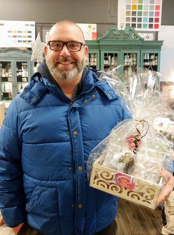 Winner of our Milk Paint Basket!