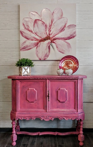 Pretty in Pink ~ Small Cabinet