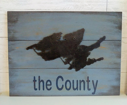 Prince Edward County 3-D Sign
