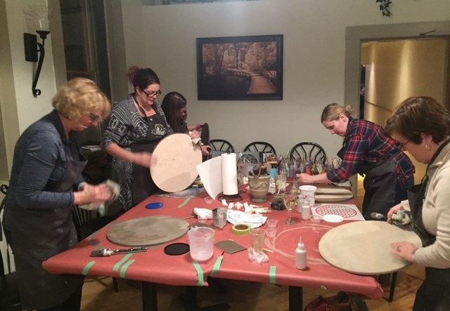Mandala tray workshop 3