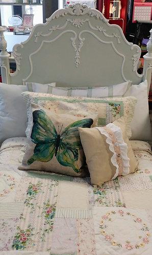 Single Bed (Head & Foot Board, Rails, Nightstand)