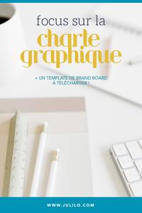 Focus sur la charte graphique, Julilo Design
