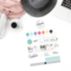 Branding board Créatrice Atelier 900