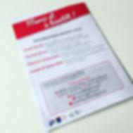 Programme de concert Harmonie La Garonne