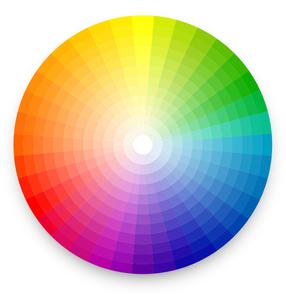 Cercle chromatique des couleurs