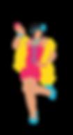 Illustration danseuse Charleston