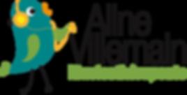 Logo Aline Villemain Musicothérapeute