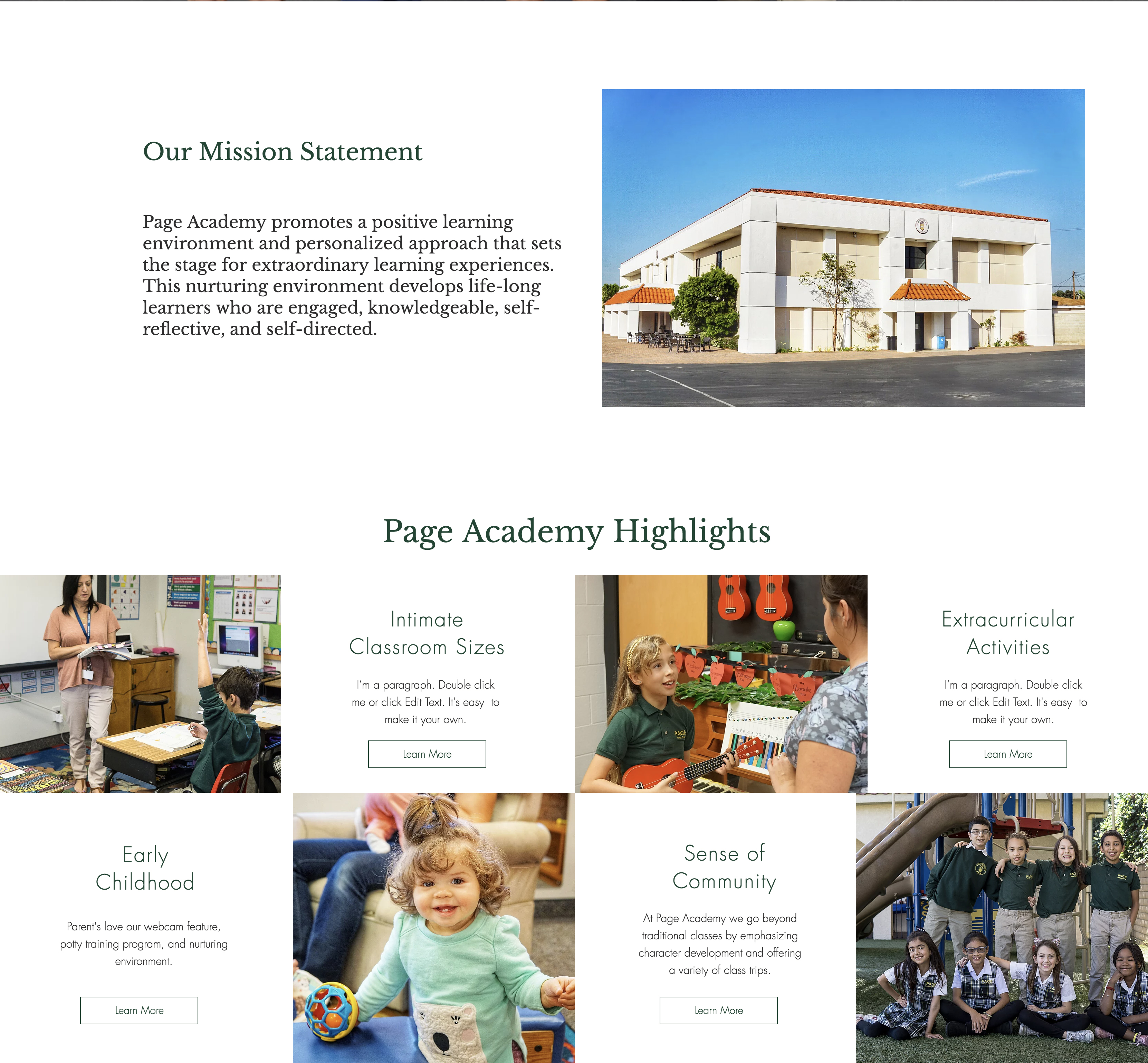 PAGE ACADEMY