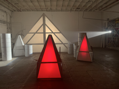 Glowing Triangle Props