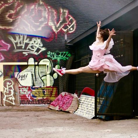 Graffiti Wall Dancer