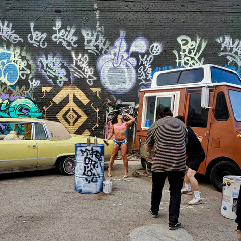 Music Video Warehouse Shoot