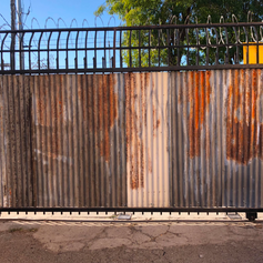 Warehouse Textures Metal Gate