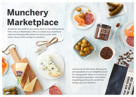 New Customer Brochure: Munchery Marketplace (LA)