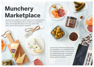 New Customer Brochure: Munchery Marketplace (LA)
