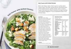 Kale Caesar with Grilled Chicken