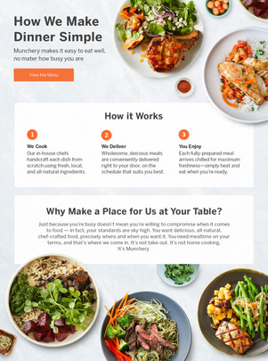 How it works landing page