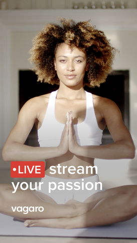 Live stream your passion