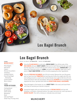 Lox Bagel Brunch