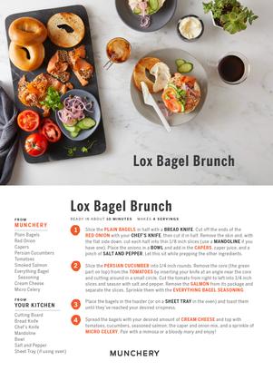 Lox Bagel Brunch