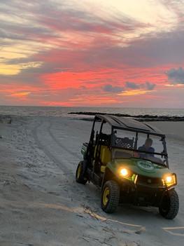 Sea Turtle Patrol Sunset