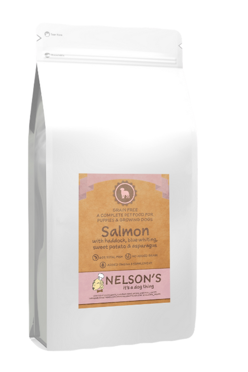 Nelson's Seriously Salmon Puppy Food
