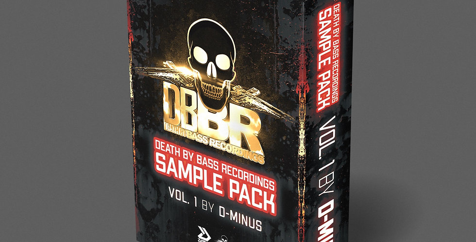 D-minus - DnB Sample Pack Volume 1