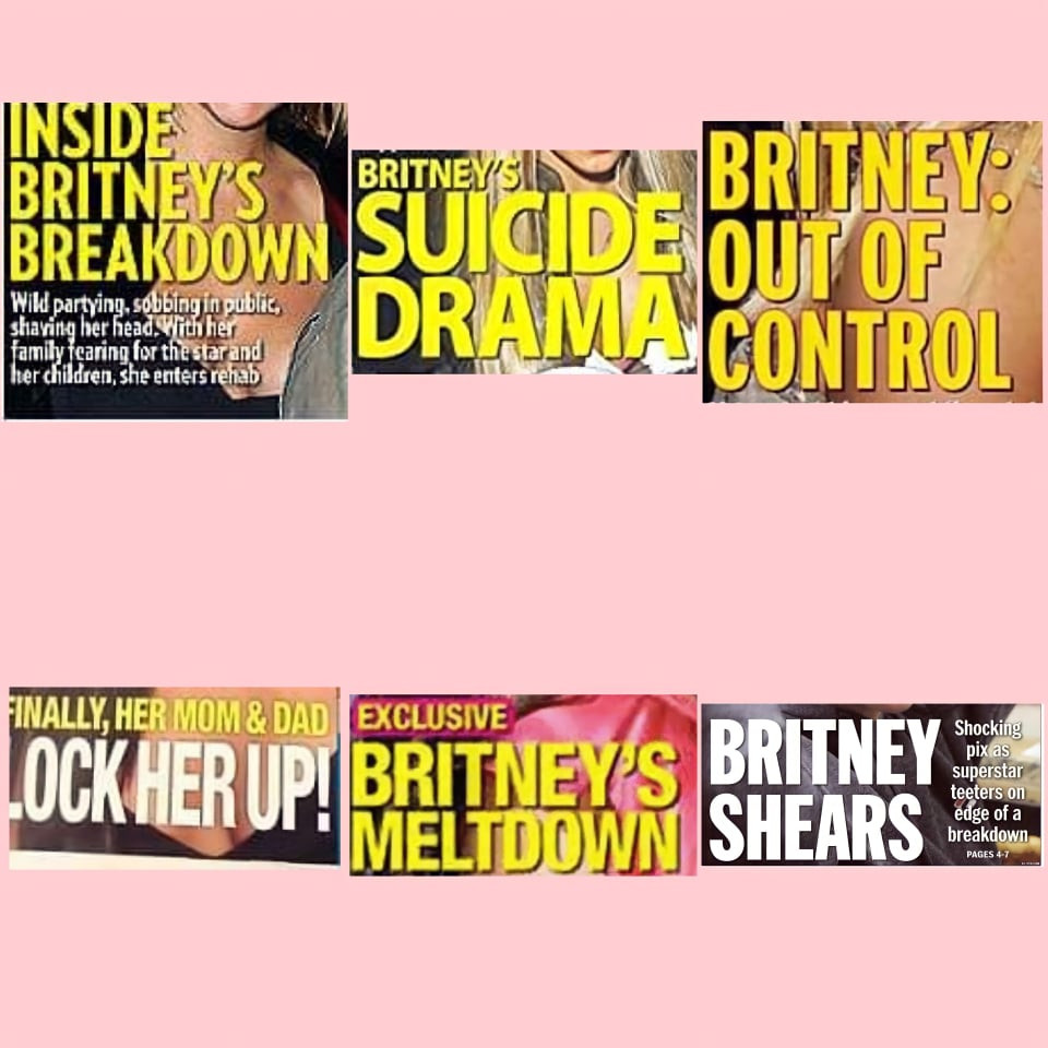 Britney Spears ψυχική ασθένεια
