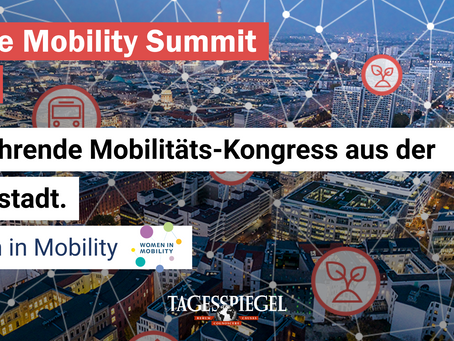 Die Women in Mobility beim Future Mobility Summit 2021 #HauptstadtAmDienstag