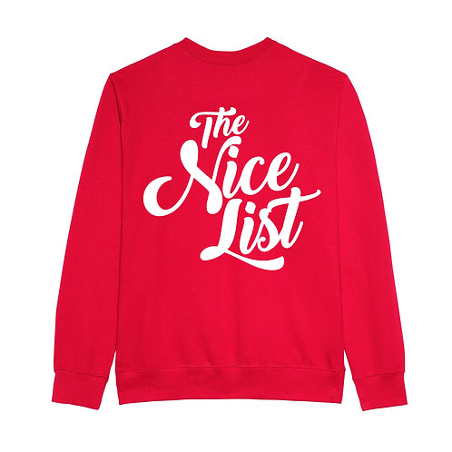 The Nice List Front And Back
