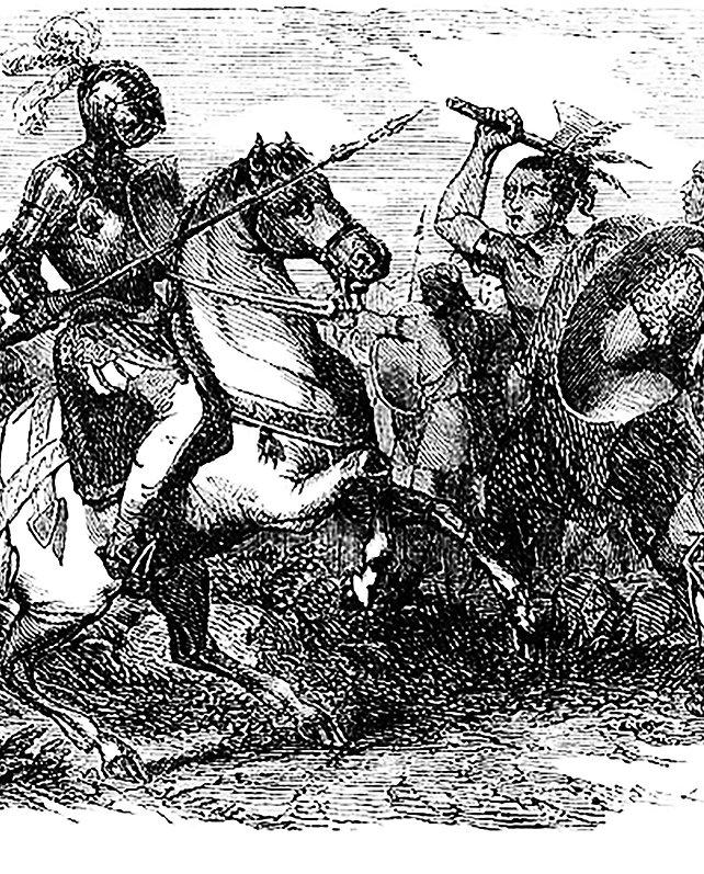 La Araucana : poema / de D. Alonso de Ercilla y Zúñiga. Ed. ilustrada. Madrid : Impr. y Libr. de J. Gaspar Editor, 1884. 168 p.
