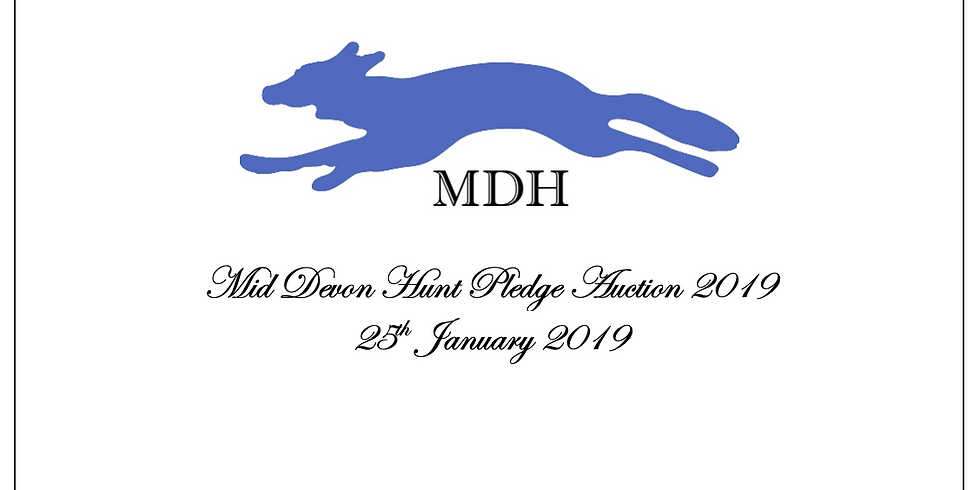 MDH Pledge Auction