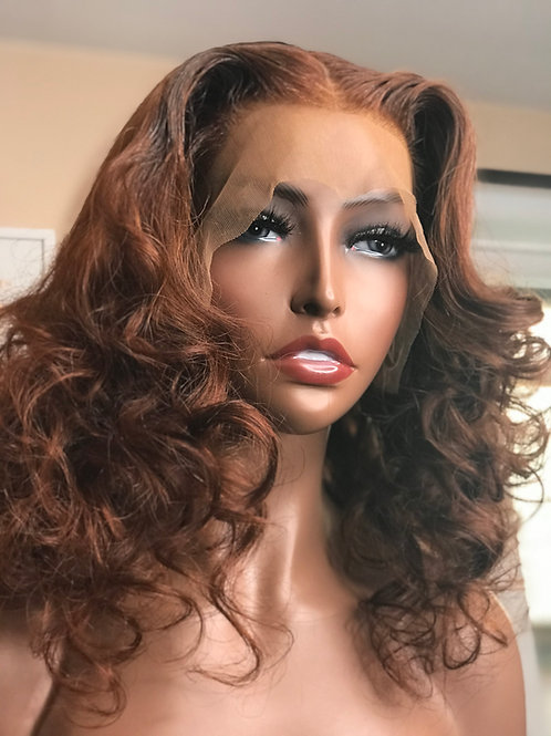 """Bianca 16""""  Virgin Body Wave Lace Frontal Wig"""