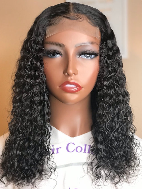 """""""Sophy"""" 14"""" Lace Closure Deep Curly Wig"""
