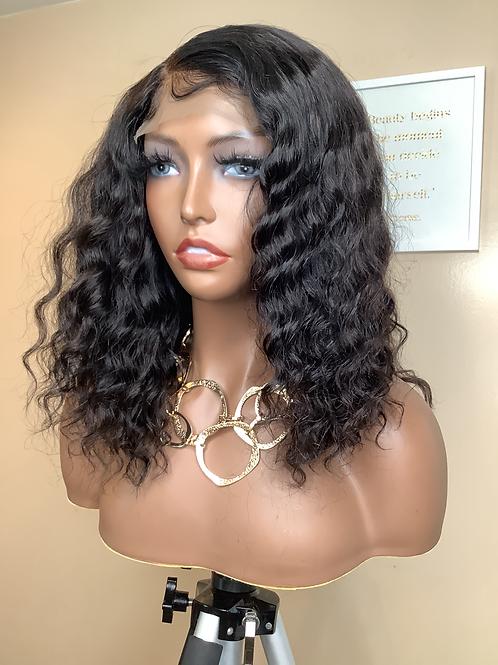 """Trina"""" 14"""" Natural Color 4x4 Lace Closure Wig"""