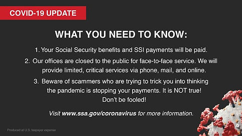 Social Security COVID-19