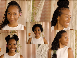 5 Ways to Style Your Faux Locs