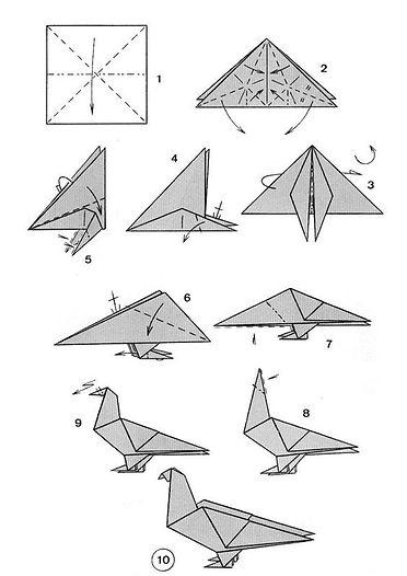 Origami golab